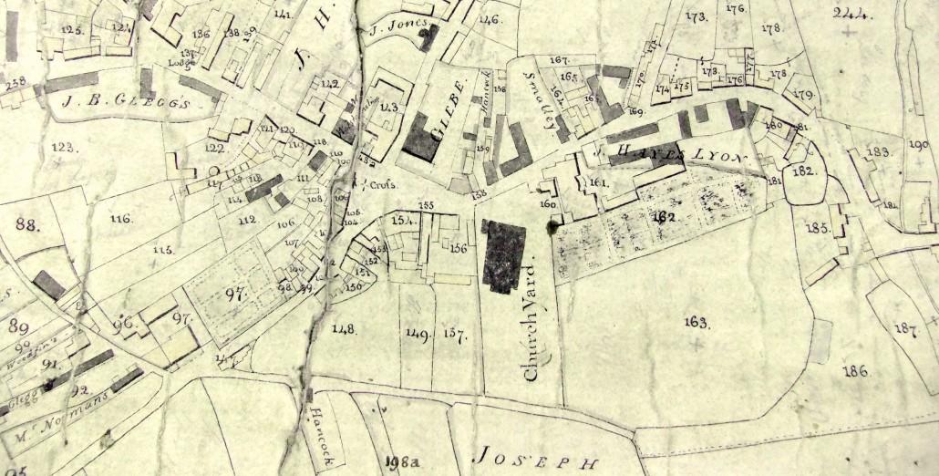 Neston map 1814