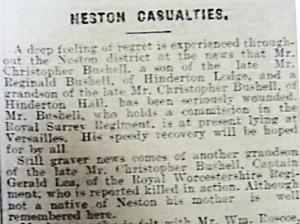 Birkenhead Advertiser - Saturday, 3rd October, 1914
