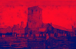 Neston old church red