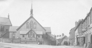 The Mission Hall, replaced by the Methodist Church 1907