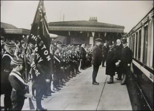 March 1915, Hooton Station, Neston Boys Brigade