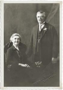 James and Elizabeth Pyke,  John's parents.