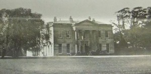 Ashfield Hall, home of Uvedale Corbett