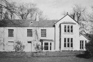 The Manor House, down Moorside Lane, home of the Churtons.