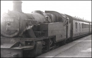 One of the last trains on the line (David Scott collection)
