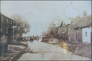 Early 20th century photo of Mealors farm (centre), formerly Soanes (hence Shones Croft).