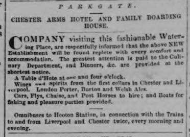 Chester Chronicle - Saturday 16 June 1855 Image © THE BRITISH LIBRARY BOARD. ALL RIGHTS RESERVED.