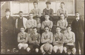 Little Neston Football Club 1911- 1912
