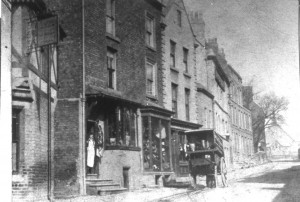 High Street. Saddlers and harness makers (now Oriental Spice)