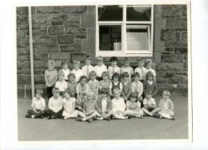 Liverpool Road, Neston C of E School, 1980s.