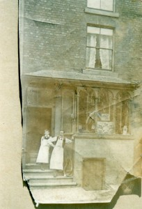 High Street. Saddlers and harness makers, John Johnson or Colonel Lloyd (now Oriental Spice)