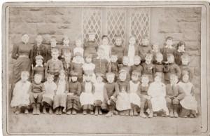 Neston C of E School, Liverpool Road, 1890s