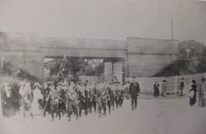 1911. Coronation Day. 22nd June. Parkgate. Neston Boys Brigade