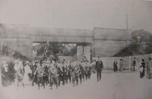 1911. Coronation Day. 22nd June. Parkgate. Neston Boys Brigade