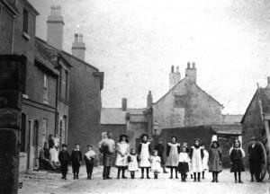 Cross Street, looking towards Liverpool Road.