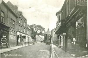 High Street, Neston circa 1925