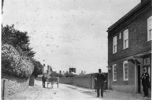 Parkgate Road before the library was built