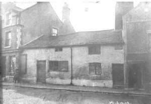 The Cross. 1903. This was the year that the Black Bull, on the right, was amalgamated with the Greenland Fishery.