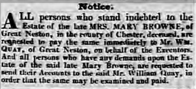 Chester Chronicle - Friday 14 December 1832 Image © THE BRITISH LIBRARY BOARD. ALL RIGHTS RESERVED.