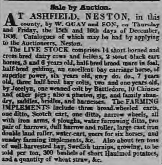 Chester Chronicle - Friday 09 December 1836 Image © THE BRITISH LIBRARY BOARD. ALL RIGHTS RESERVED.