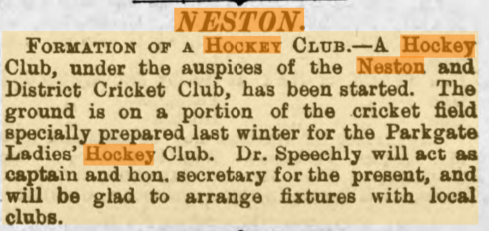 Chester Courant, 3rd October 1900