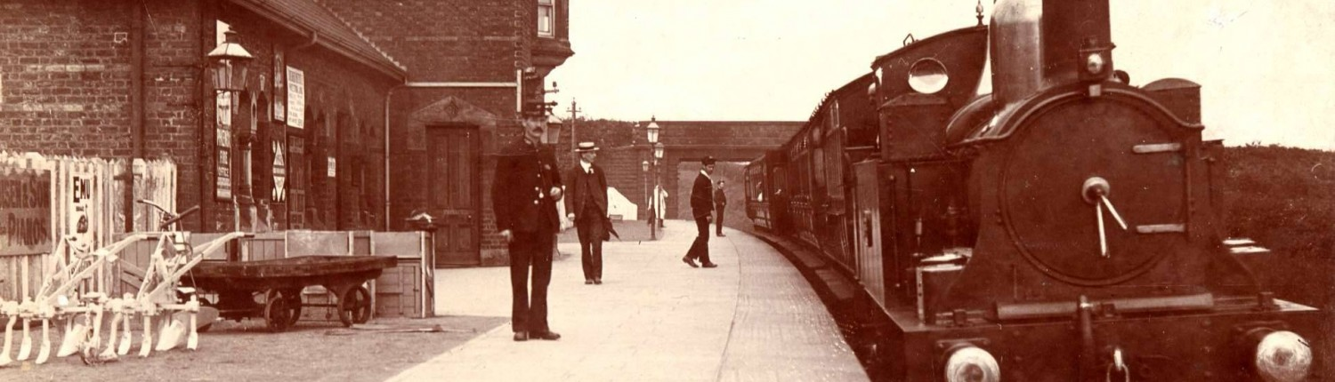 Neston South Station